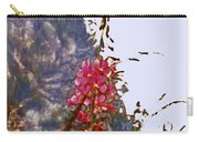 Restful Flowers Carry-all Pouch