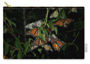 Resting Monarchs Carry-all Pouch