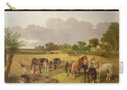 Resting Plough Team Carry-all Pouch