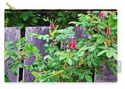 Resting Rosebuds Enhanced Carry-all Pouch