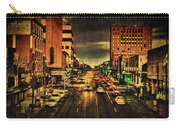 Retro College Avenue Carry-all Pouch by Joel Witmeyer