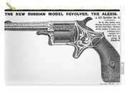 Revolver Ad, 1878 Carry-all Pouch