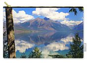 Rflection On Lake Mcdonald Carry-all Pouch