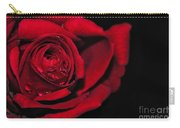 Rich Red Rose Carry-all Pouch