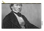 Richard Cobden (1804-1865). /nenglish Politician And Economist. Steel Engraving, English, 19th Century Carry-all Pouch