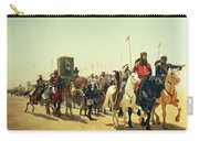 Richard Coeur De Lion On His Way To Jerusalem Carry-all Pouch