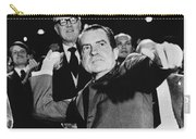 Richard Nixon (1913-1994) Carry-all Pouch