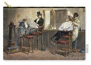 Richmond Barbershop, 1850s Carry-all Pouch