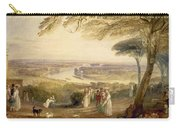 Richmond Terrace Carry-all Pouch by Joseph Mallord William Turner