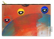 Ride A White Wave Carry-all Pouch by Charles Stuart