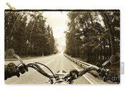 Riders Eye Veiw In Sepia Carry-all Pouch
