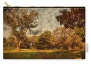 Ridge Walk - Holmdel Park Carry-all Pouch by Angie Tirado