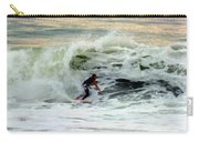 Riding In Beauty Carry-all Pouch by Karen Wiles