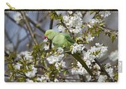 Ring-necked Parakeet Carry-all Pouch