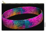 Ring Of Feathers 3d Carry-all Pouch