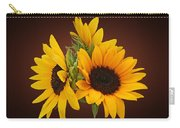 Ring Of Sunflowers Carry-all Pouch
