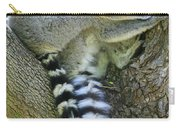 Ring-tailed Lemurs Madagascar Carry-all Pouch