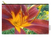 Ripe Blood Orange Carry-all Pouch by Trish Hale