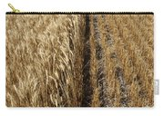 Ripened Wheat And Stubble In Saskatchewan Field Carry-all Pouch