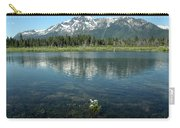 Ripples On Lake Of Mt Tallac Carry-all Pouch