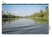 Ripples On The Water Of The Saltwater Lagoon In Alleppey In Kerala In India Carry-all Pouch