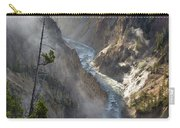 Rising Mists From Grand Canyon Of The Yellowstone Carry-all Pouch