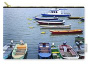 River Boats On Danube Carry-all Pouch by Elena Elisseeva