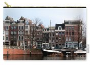 River Scenes From Amsterdam Carry-all Pouch