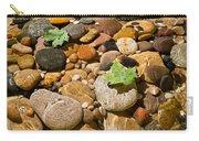 River Stones Carry-all Pouch by Steve Gadomski