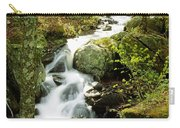River With Trees In The Forest Carry-all Pouch