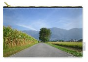 Road And Trees Carry-all Pouch