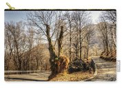 Road Curve With Trees Carry-all Pouch