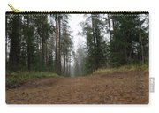 Road In A Pine Grove Carry-all Pouch