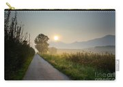 Road In Sunrise Carry-all Pouch