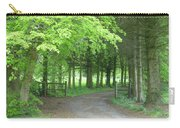 Road Into The Woods Carry-all Pouch