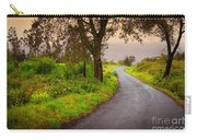 Road On Woods Carry-all Pouch by Carlos Caetano