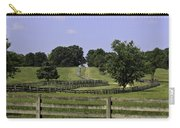 Road To Lynchburg Carry-all Pouch by Teresa Mucha