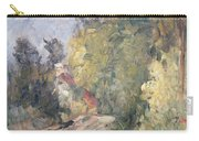 Road Turning Under Trees Carry-all Pouch