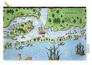 Roanoke Landing, 1585 Carry-all Pouch
