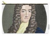 Robert Boyle, British Chemist Carry-all Pouch