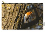 Robin On Tree Carry-all Pouch