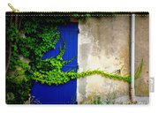 Robust Vine On Blue Door Carry-all Pouch