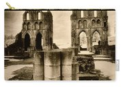 Roche Abbey Carry-all Pouch by Simon Marsden