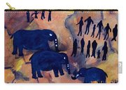 Rock Art No 3 Elephant Sighting Carry-all Pouch