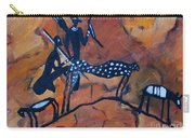Rock Art No 5 Cheetah's Viewpoint Carry-all Pouch