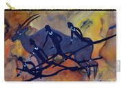 Rock Art No 6  Hunter's And Eland Carry-all Pouch