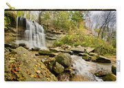 Rock Glen Falls Carry-all Pouch by Cale Best