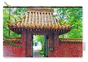Rockefeller Garden Entry Carry-all Pouch