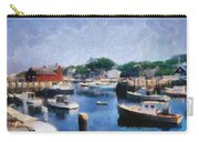 Rockport Maine Harbor Carry-all Pouch