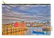 Rockport Water Color - Greeting Card Carry-all Pouch